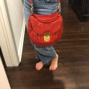*last chance* Miu Miu red handbag